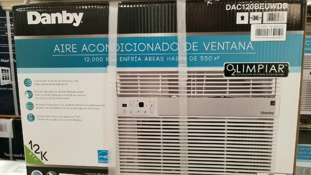 Costco Danby 12 000 Btu Window Air Conditioner W Ionizer 239