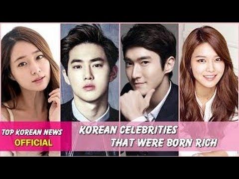 TOP 20 Korean Celebrities That Were Born RICH
