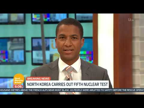North Korea Carries Out 5th Nuclear Missile Test | Good Morning Britain