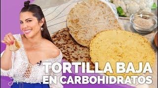 TORTILLAS KETO | COMIDA BAJA EN CARBOHIDRATOS - JacquieMarquez