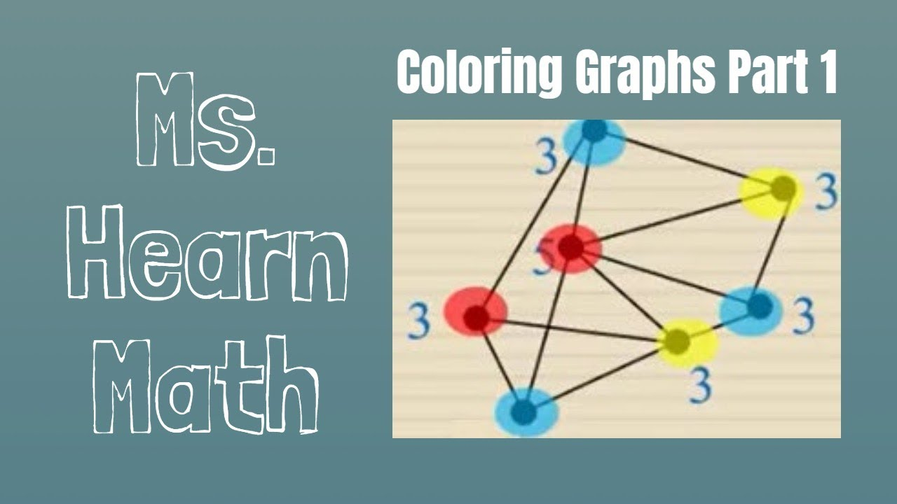 Coloring Graphs Part 1: Coloring and Identifying Chromatic Number ...