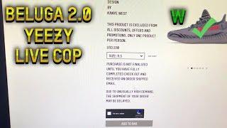 LIVE COP: Yeezy Boost 350 V2 Beluga 2.0 *NOT CLICKBAIT*