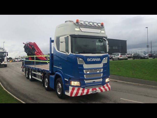 SCANIA S500 WITH REAR MOUNTED FASSI F485.RAC.2.25
