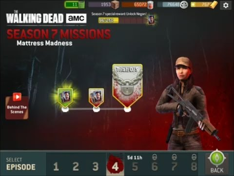 Walking Dead : No Man's Land - SEASON 7 - Rosita - Mattress Madness