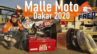 Dakar 2020 ▶▶ Il y a quoi dans la malle d'un pilote malle moto ? 🤔