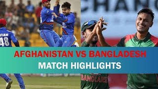 Afghanistan vs Bangladesh    afg vs ban asia cup 2018 highlights in asia cup 2018