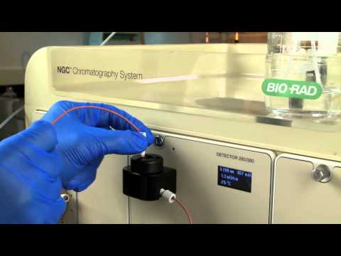 Plumbing the NGC™ Scout Liquid Chromatography System