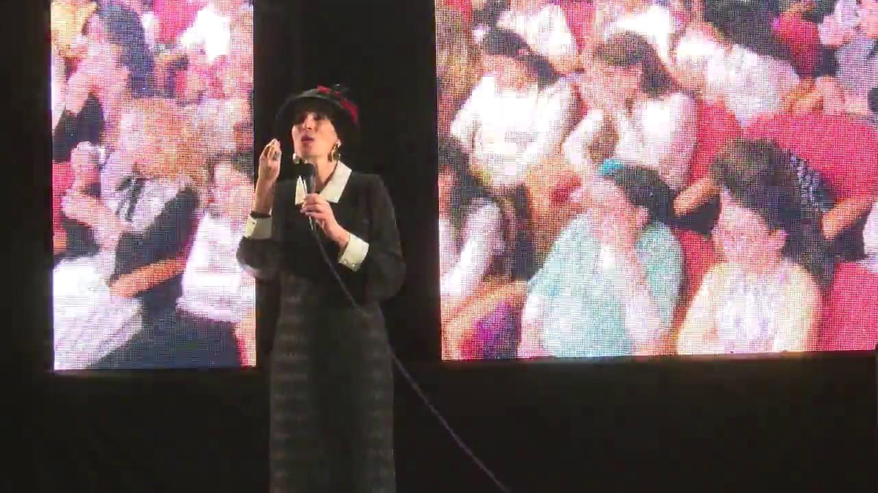 הרבנית ימימה מזרחי - קטע ממופע מאירות בהיכל בבנייני האומה HD