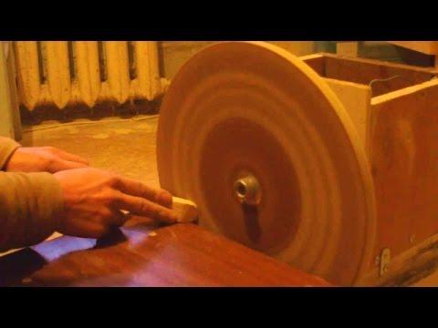 Как сделать шлиф машинку Building A Disc Sander