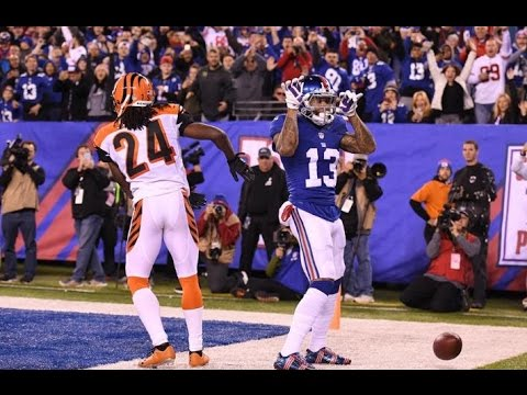 Week 10: New York Giants beat Cincinnati Bengals 21-20! Odell Beckham, Jr scores a great TD!