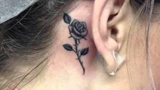 Ingeniosos tatuajes para tu oreja