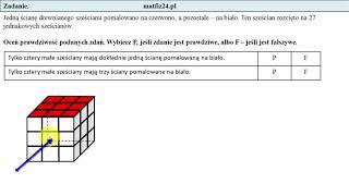 Zadanie 16. Zagadka . Egzamin przykładowy ósmoklasisty CKE | MatFiz24.pl
