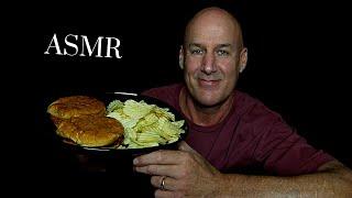 ASMR: LIFE UPDATE & SLOPPY JOES WITH CRUNCHY POTATO CHIPS (EATING SOUNDS) SOFT SPOKEN