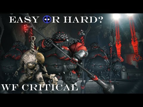Easy or Hard? - Let's Talk Difficulty - Warframe Critical thumbnail
