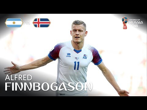 Alfred FINNBOGASON Goal - Argentina v Iceland - MATCH 7