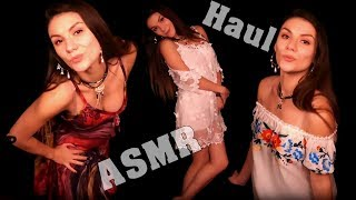 АСМР 👗 Примерка Одежды, Покупки из Турции (Шепот с Ушка на Ушко) - ASMR Haul Try On - Whisper
