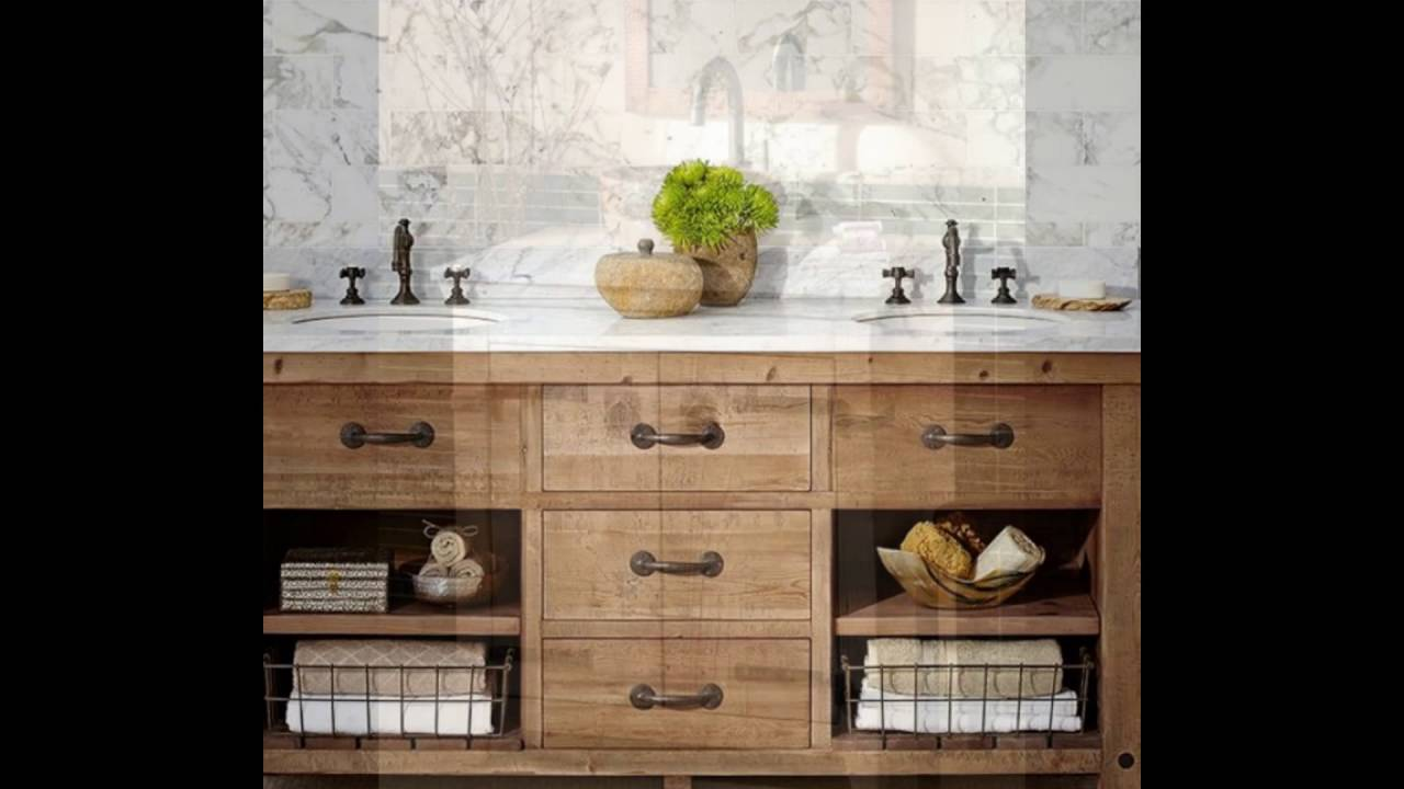 farmhouse bathroom vanity - Farmhouse Bathroom Vanity