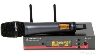 Обзор радиосистем Sennheiser EW 112 G3, EW 122 G3, EW 135 G3, EW 145 G3, EW 152 G3, EW 165 G3