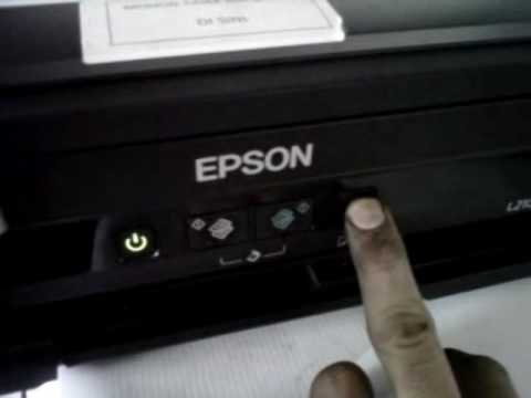 Printer Epson L210 It Is Time To Reset The Ink Levels Youtube