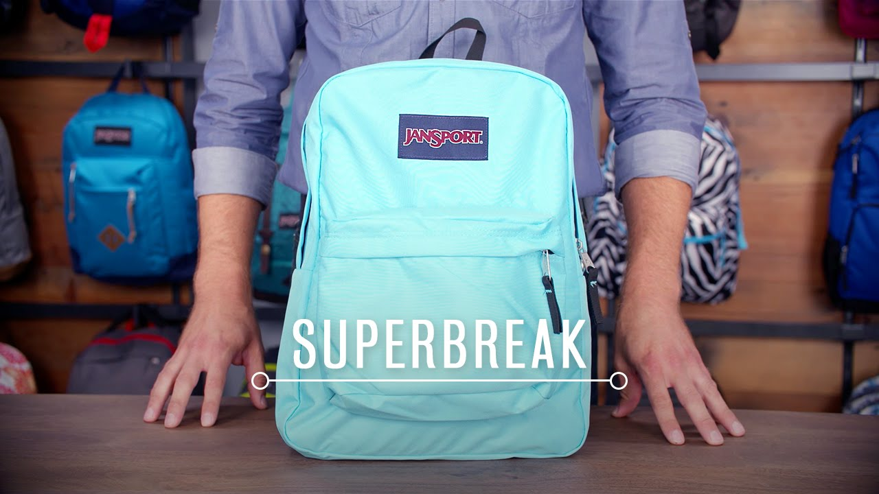 JanSport Pack Review: SuperBreak - YouTube