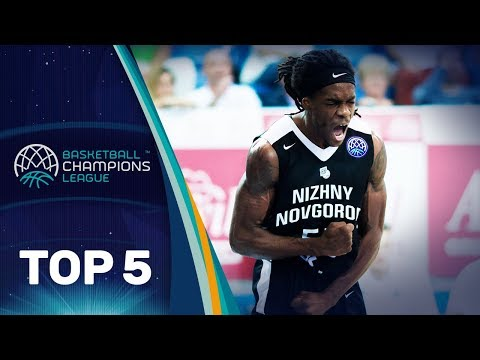 Top 5 Plays – Wednesday – Gameday 2 – Basketball Champions League 2018-19