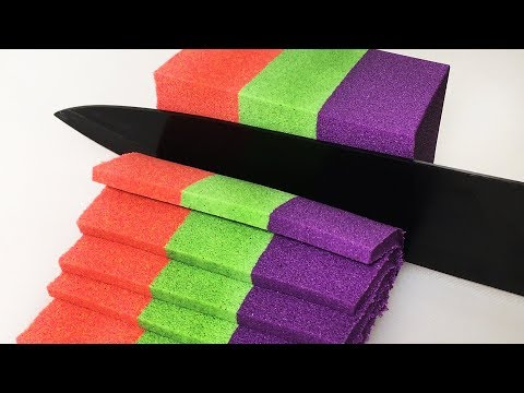 Very Satisfying and Relaxing Compilation 140 Kinetic Sand ASMR