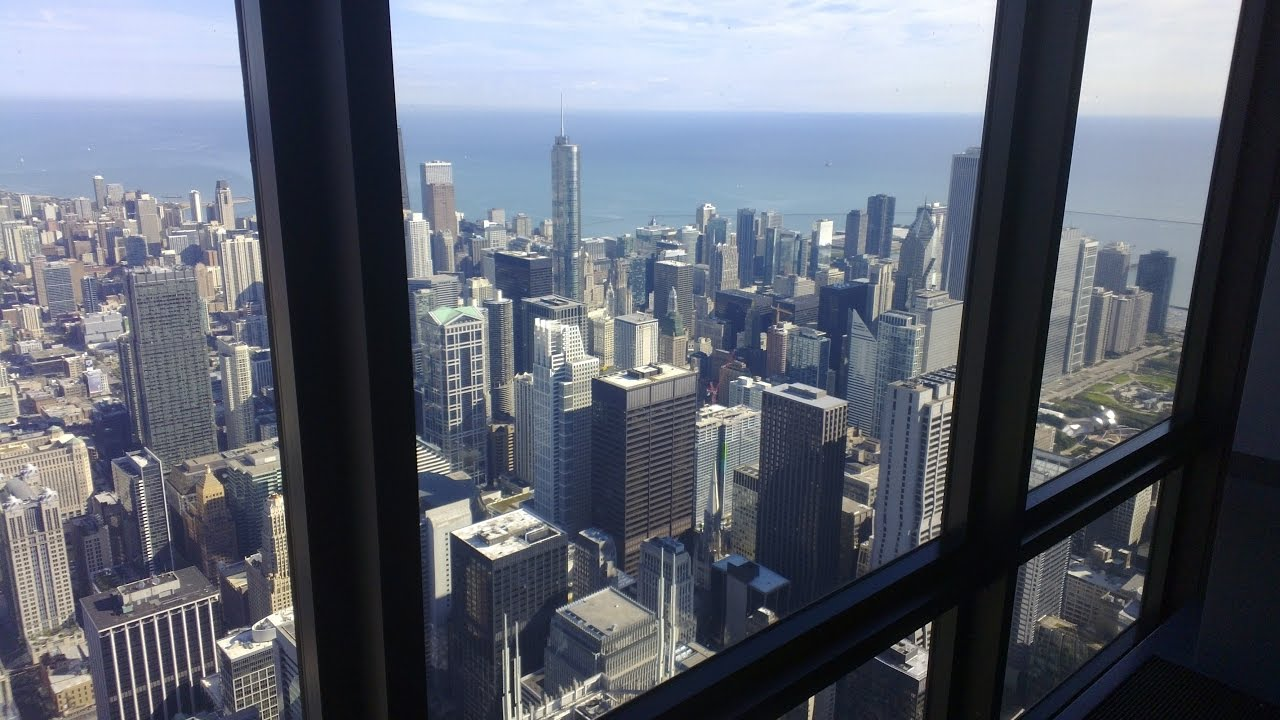 Willis Tower Skydeck Chicago 103rd Floor Youtube