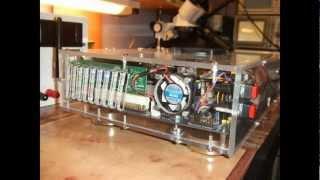 Compact plexiglas computer