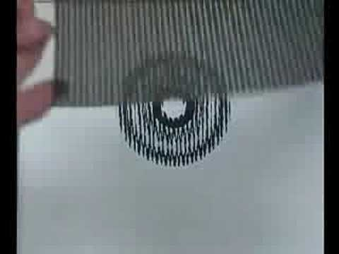 3D картинки под плёнкой