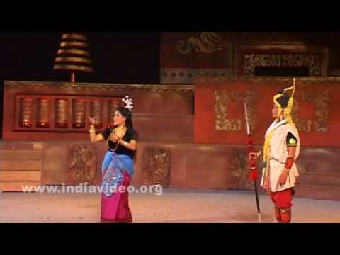 A dance from Manipur