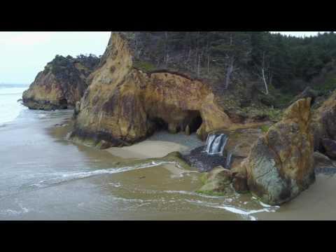 Oregon Coast in 4K