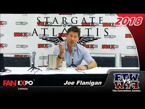 Joe Flanigan Stargate Atlantis  Expo Canada 2018 Full Panel