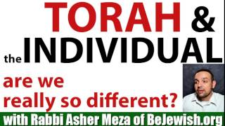 Torah and the Individual