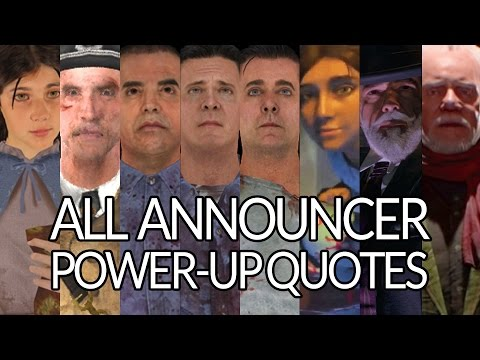 All Announcer Power-Up Quotes (Samantha, Richtofen, Sal, Finn, Billy, Shadowman, Monty)