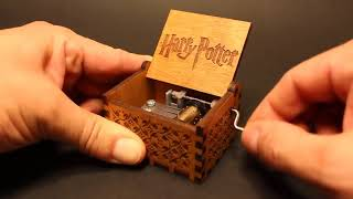 Harry Potter Theme - Hand Engraved - Music Box