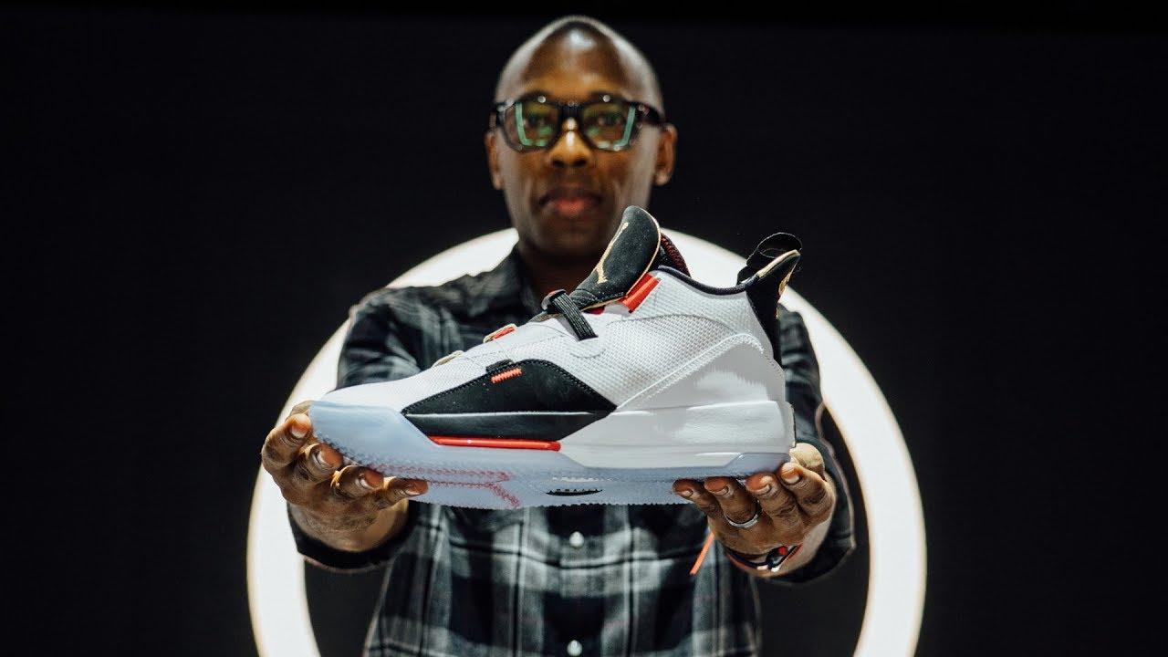 735225835b83 AIR JORDAN 33 Hands-On Sneaker Reveal - YouTube