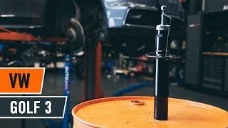 priekšā Amortizators uzstādīšana VW GOLF III (1H1): bezmaksas video