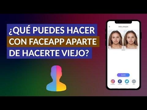 Qué Puedes Hacer con la Aplicación FaceApp Aparte de Hacerte Viejo y Cambiar de Sexo