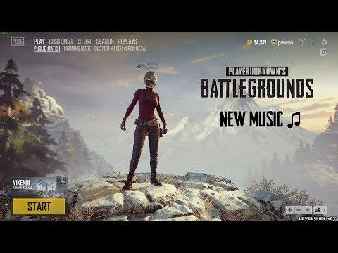 PUBG New Snow Lobby & Music