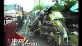 Pad Stíhaček MIG21 na Sídliště Vltava 8. června 1998
