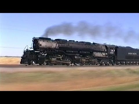 Union Pacific passenger steam special. Omaha, Nebraska, USA