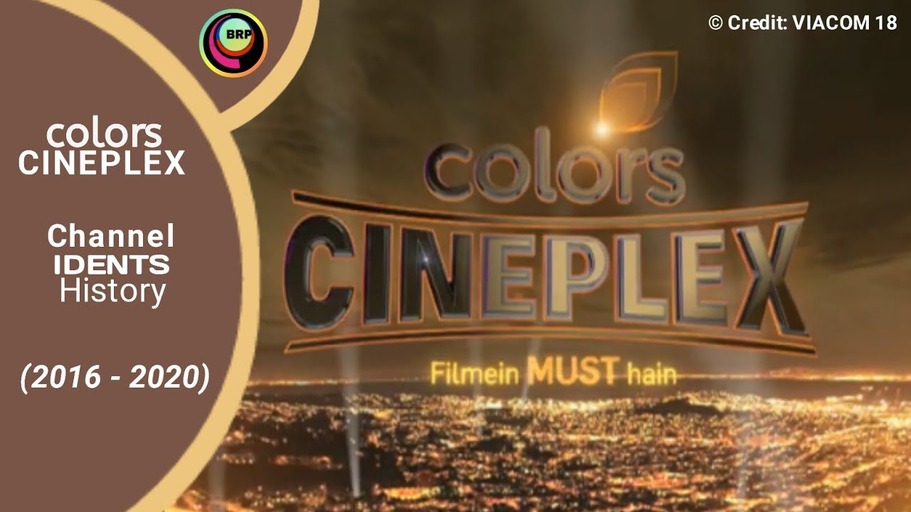 Download Colors Cineplex Channel Idents History [2016-2020]