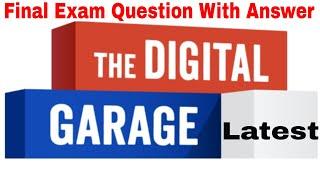 Google Digital Garage Final Exam Answer Latest 2018 September