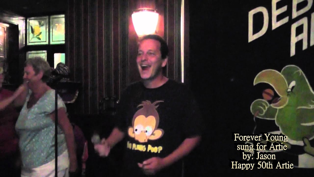 Jason Singing A Song For Artie 50th Birthday