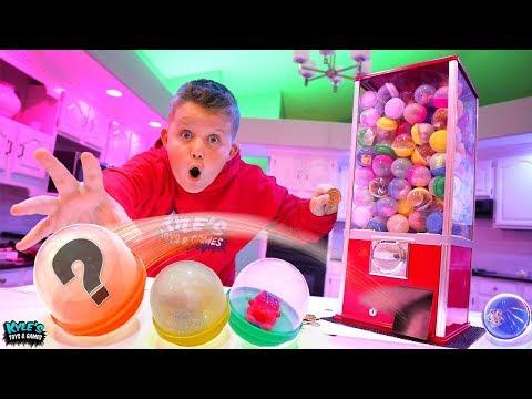 Mystery Toy Dispenser Roulette Hide and Seek! FUN FUN FUN