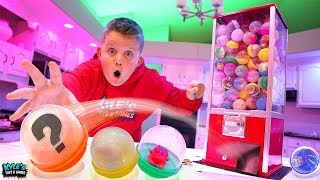 Mystery Toy Dispenser Roulette Hide and Seek! FUN FUN FUN