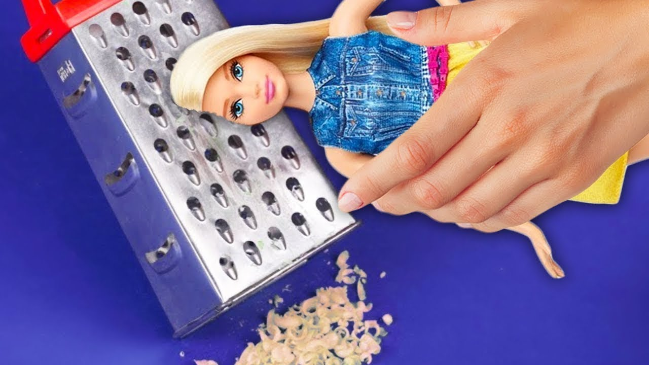 25 Locos Trucos Para Tu Barbie Youtube