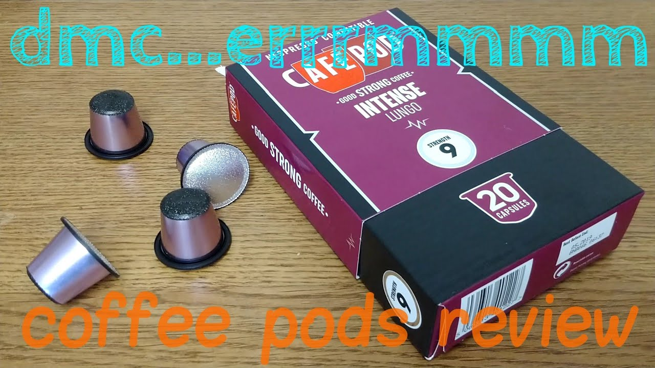 Cafepod Intense Lungo Coffee Pods Review