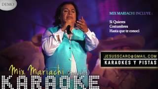 KARAOKE Juan Gabriel - Mix Mariachi