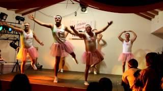 Fasching Honkling 2013 Auftritt Männerballett
